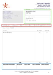 template pdf DDT ITALIA